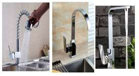 Brand New! Stunning Kitchen Faucet Tap Mixers- Rotatable, mirror finis