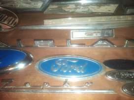 Cortina  rear badge