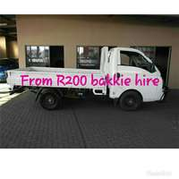 Image of Bakkie , Truck hire with trail