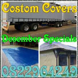 Desember Specials on All Your Cover Needs