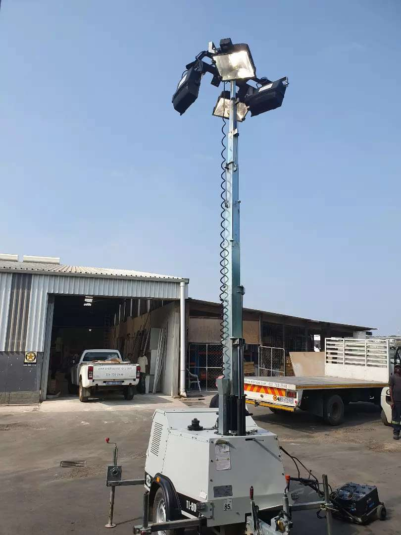 OUTDOOR MOBILE LIGHTING PLANT 0