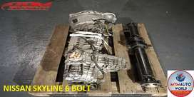 IMPORTED USED NISSAN SKYLINE 6 BOLT GEARBOX FOR SALE AT MYM AUTOWORLD