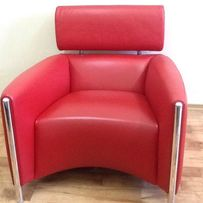 Дизайнерское кресло, натуральная кожа