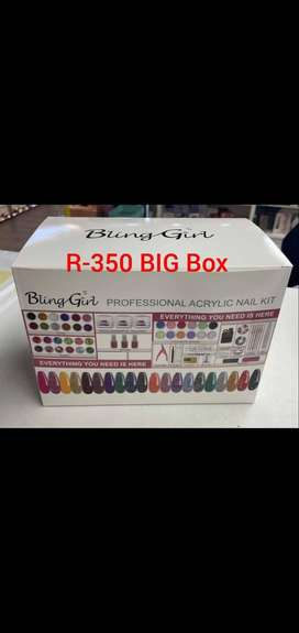 Nails decor and products