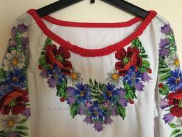 платье ручная вышивка чешским бисером