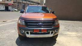 2014 Ford Ranger wild track 3.2 Automatic