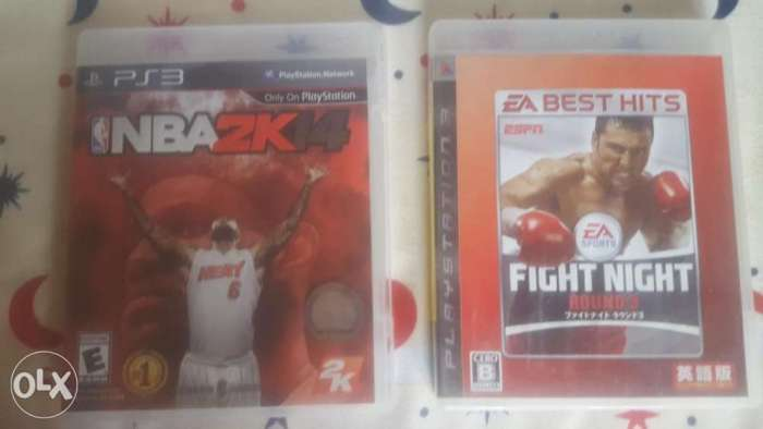 NBA2K14 & Boxing fight night 0