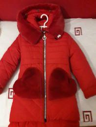 Куртка пальто для дівчаток