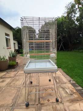 Large bird cage with stand FOR SALE