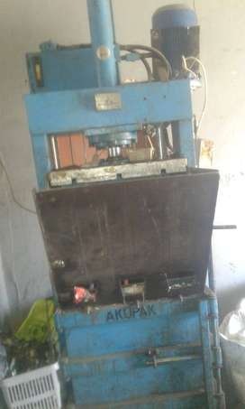Vertical Baler Used