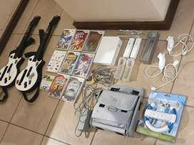 Wii + TONS of accessories and games R3.5K