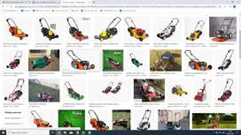 LAWNMOWERS WANTED IN STORE