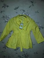 Куртка Плащь на девочку весна осень