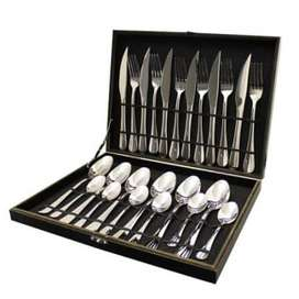 Brand New!!! 24pc Fine Living Cutlery Set - A MUST HAVE!!!