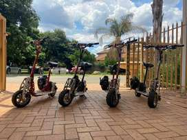 Motorised scooters at a bargain
