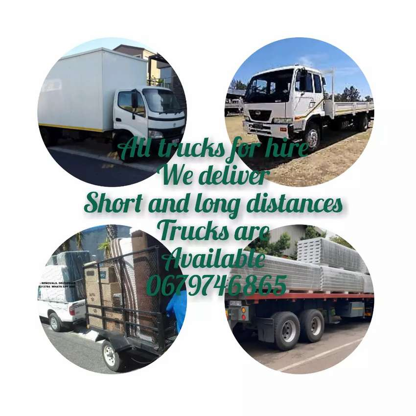 Removals trucks