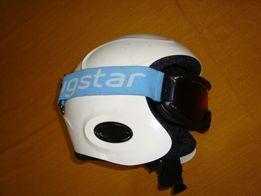 kask do sportów zimowych Bugstar roz L- 59 cm-Super Etto -okulary -I