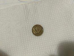 Монета 1 копейка СССР 1984 года