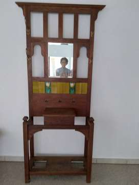 Antique Hallstand with Tiles