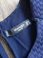 Granatowa sukienka Mango w rozmiarze S