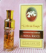 Духи ВИНТАЖ Nina Ricci L'Air du Temps parfum 7.5ml