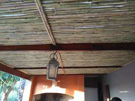 QUALITY WOOD AND BAMBOO REEDS CEILINGS AND FENCING