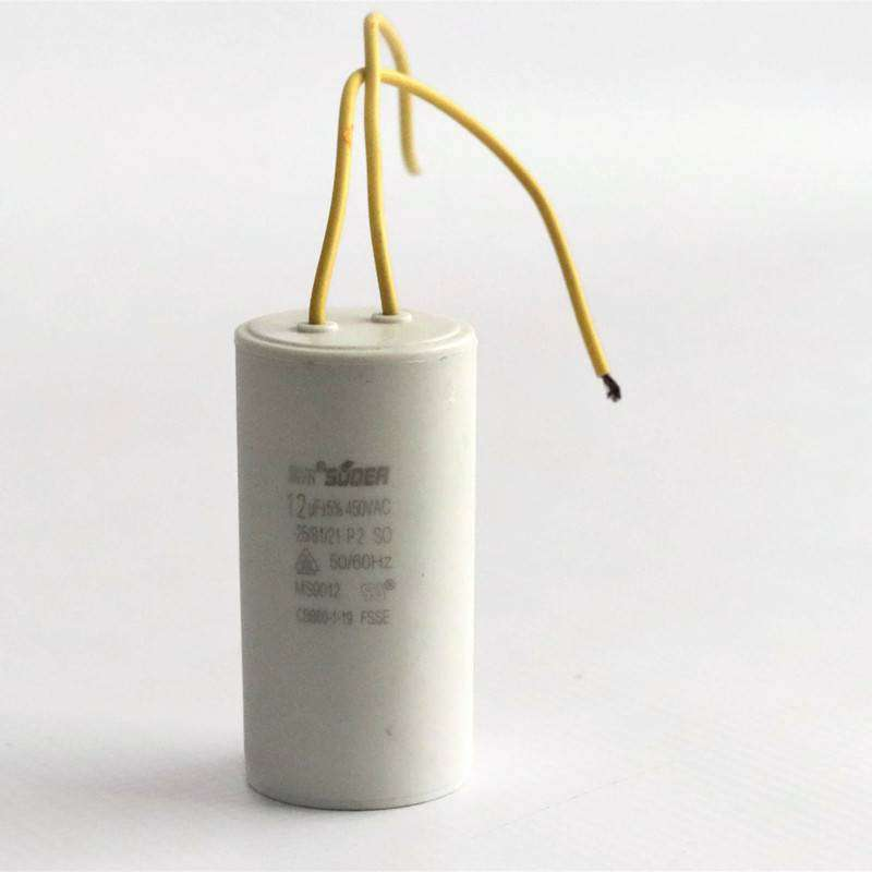 High Quality Home Appliance Run Capacitor 12uF 450VAC