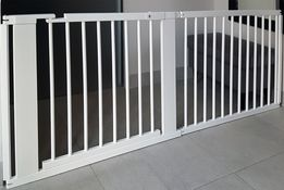 BARIERKA OCHRONNA bramka zabezpieczająca przejście schody do 184 cm