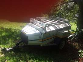 Torsion offroad camping trailer