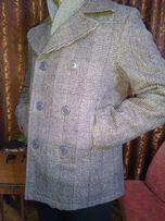 Шерстяное пальто H&M на утеплителе
