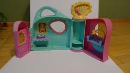 Littlest Pet Shop - domek, klinika weterynaryjna + zjeżdżalnia