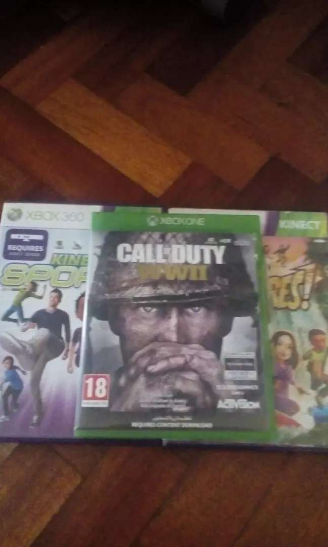 Xbox 360 kinect sports kinect adventures and assassin's creed 3 trade 0