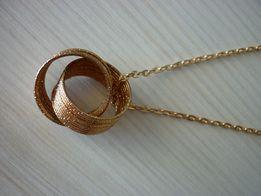 кулон, подвес, цепочка с кольцами новая-можно к годовщине свадьбы