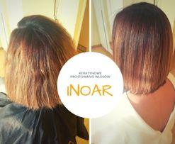 Keratynowe prostowanie włosów INOAR