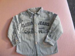 Джинсовая рубашка от Глория Джинс 12-18 М