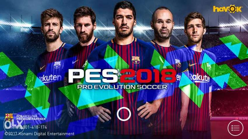 Pes 2018 On Android Device Only 0
