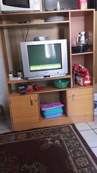 Image of Wooden TV Stand