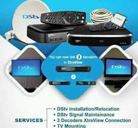 DSTV INSTALLATIONS MAINTENANCE AND TV WALL MOUNTING SAME DAY SERVICES