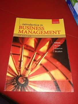Intro to Businesse management 7th edition