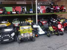 Electric cars/quadbikes/Motorbikes and more