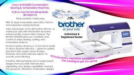 Brother Innov-is NV2600 Combination Sewing and Embroidery machine