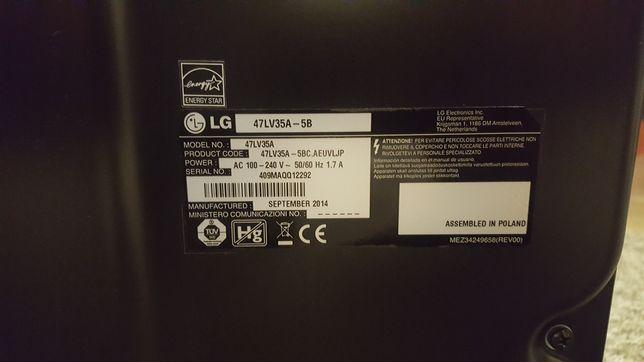47LV35A Videowall monitor bezszfowy przemysłowy uszkodzona matryca Wrocław - image 6