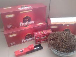 Гильзы для сигарет Firebox 1000шт гільзи для сигарет Розничн.цена