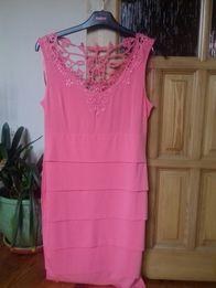 Różowa sukienka r L ORSAY