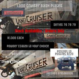 Land Cruiser Bash Plate