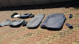 Genuine Toyota off road seat cover set
