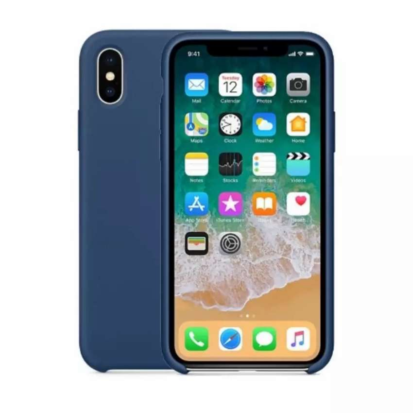 iPhone XS max silicone pouch. 0