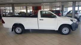 Special Discount Offer on Toyota Hilux 2.4 A/C LWB S/Cab. Extras excl