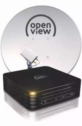 Ooenview decoder and dish