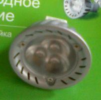 LED лампа MR16 (GU5.3) 12V подсветка витрин и прилавков